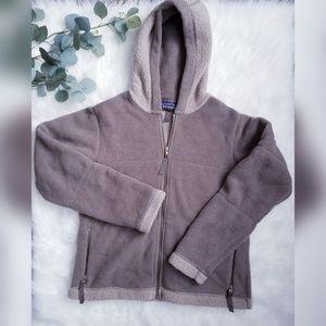 PATAGONIA Vtg Synchilla Hooded Fleece M